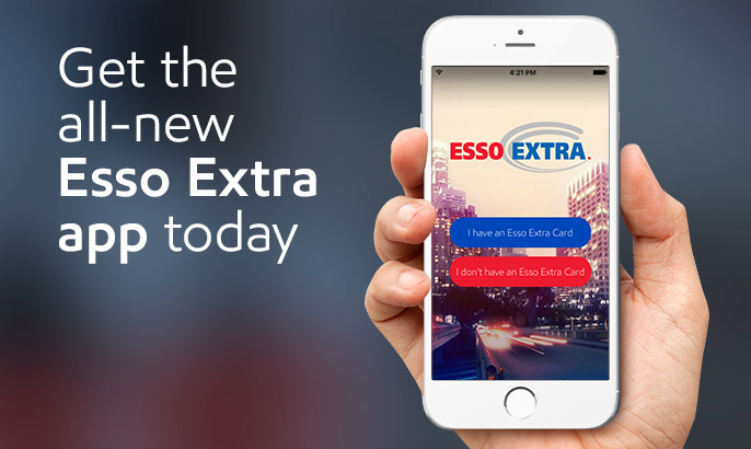 Essoextra has gone mobile scan your esso extra card esso gift cards and fuel savings cards from your phone when you pay in store reheart Gallery